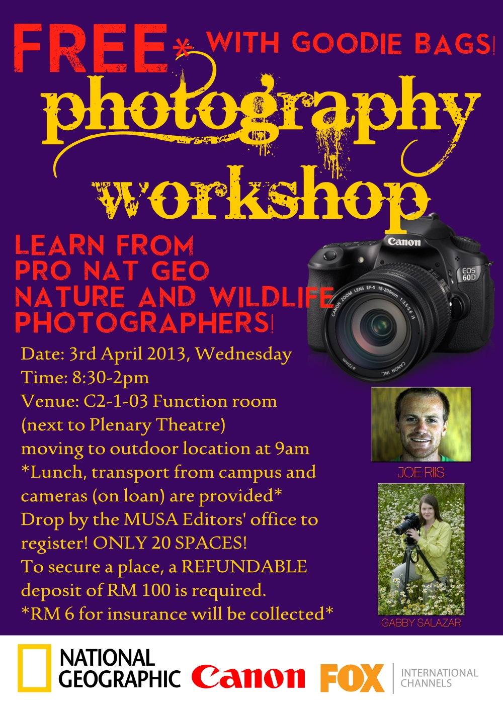 Canon Photo workshop