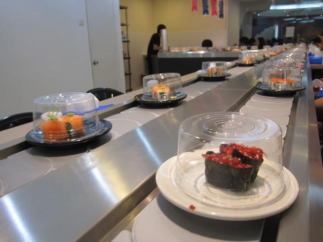 The sushi belt