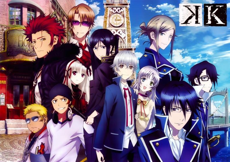 Main Cast of K