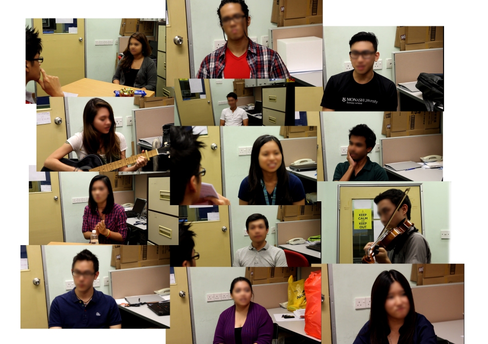 interview collage