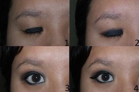 Black Smokey Eye 1-4