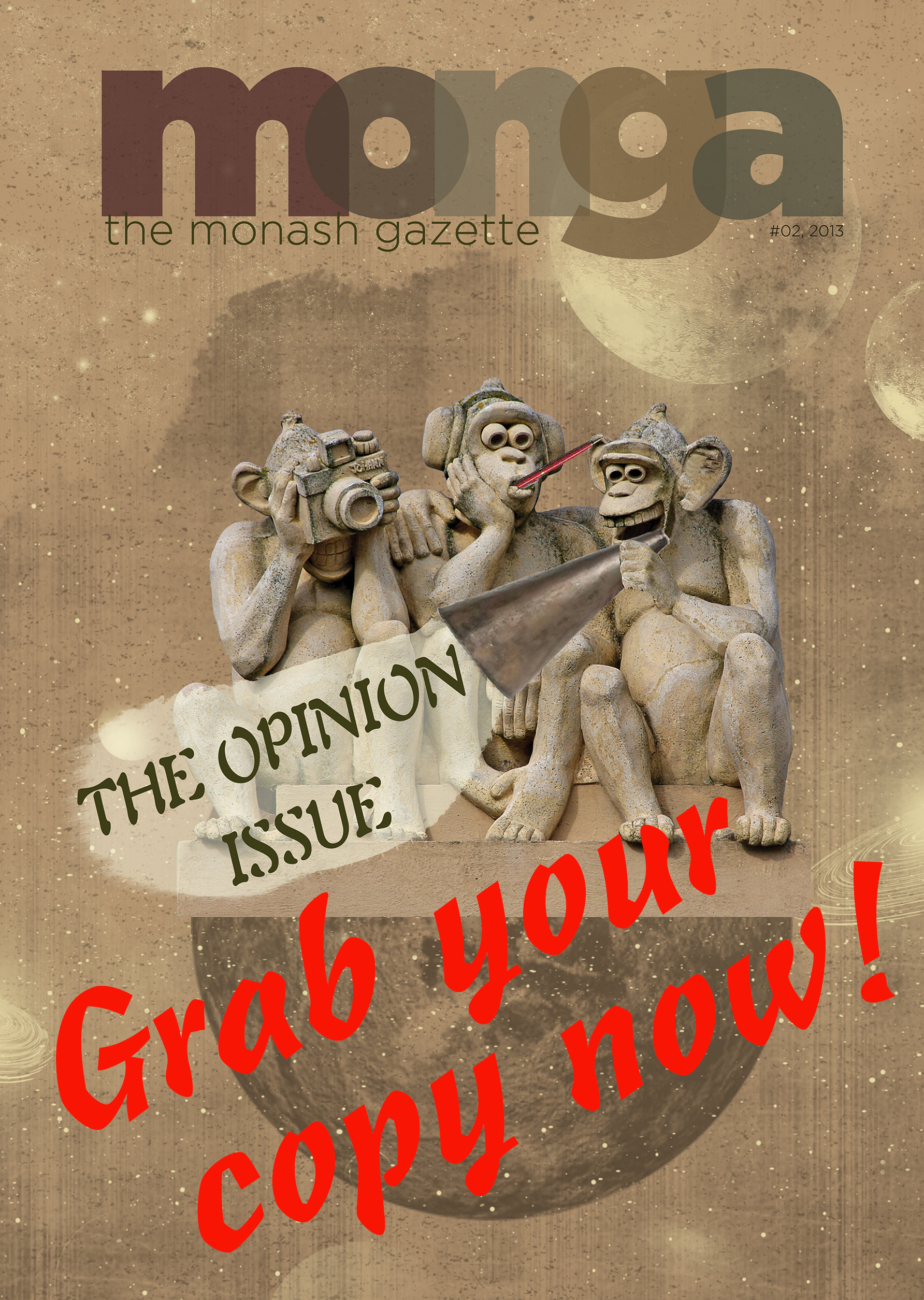 Opinion issue web promo
