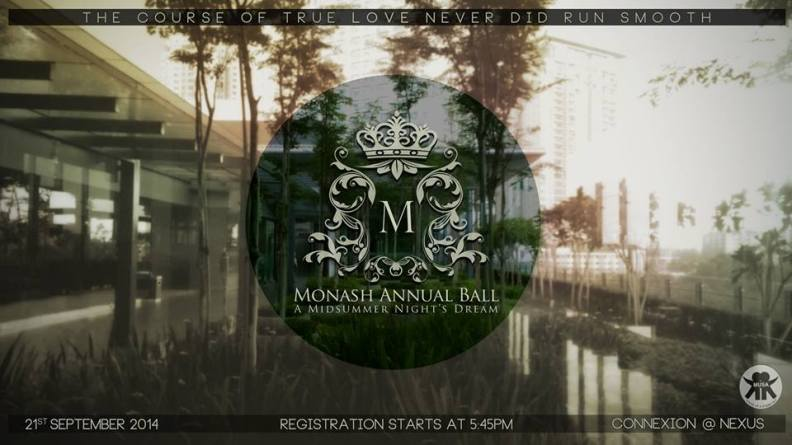 Monash Annual Ball 2014 poster