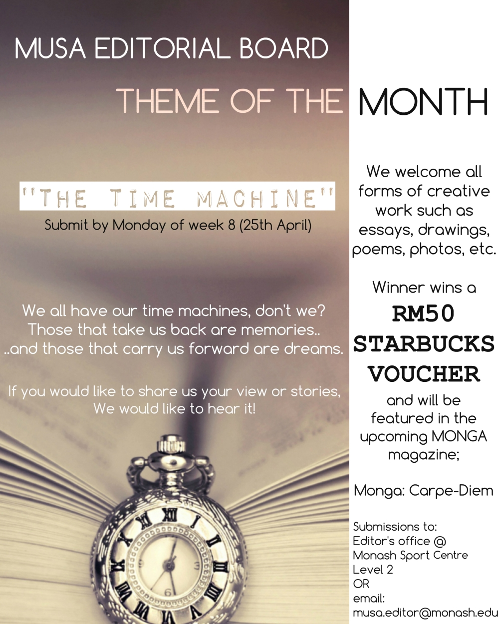theme of the month april